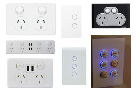 Cracked Power Points & Switches